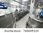 metal tanks  modern production... | Shutterstock . vector #760049224