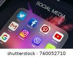 sankt petersburg russia... | Shutterstock . vector #760052710