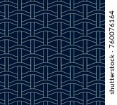 basket weave seamless pattern.... | Shutterstock .eps vector #760076164