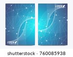 modern vector template for... | Shutterstock .eps vector #760085938