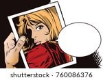 stock illustration. people in... | Shutterstock .eps vector #760086376