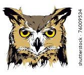 owl | Shutterstock .eps vector #76009534
