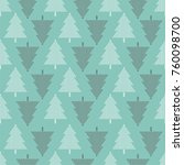 vector seamless pattern with... | Shutterstock .eps vector #760098700