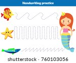 color by number  education game ... | Shutterstock .eps vector #760103056