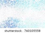 light blue vector abstract... | Shutterstock .eps vector #760105558