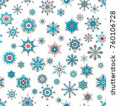 seamless pattern with... | Shutterstock .eps vector #760106728