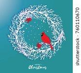 3d Origami Christmas Wreath...