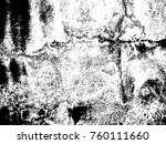 grungy distressed painted wall... | Shutterstock .eps vector #760111660