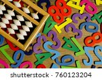 education business and finance... | Shutterstock . vector #760123204
