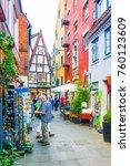 bremen  germany  august 30 ... | Shutterstock . vector #760123609