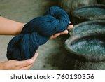 Cotton Dye Indigo. Indigo Is...