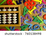 education business and finance... | Shutterstock . vector #760138498