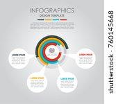 infographic template. vector... | Shutterstock .eps vector #760145668