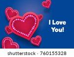 heart icons like social network ...   Shutterstock .eps vector #760155328