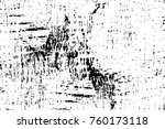 grunge black and white pattern. ... | Shutterstock . vector #760173118
