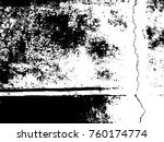 grungy distressed concrete wall ...   Shutterstock .eps vector #760174774