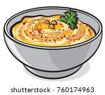 illustration of traditional... | Shutterstock .eps vector #760174963
