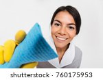 close up photo of young smiling ... | Shutterstock . vector #760175953