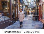 paris  france  on october 27 ... | Shutterstock . vector #760179448