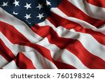 american flag background | Shutterstock . vector #760198324