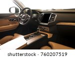 modern luxury prestige car... | Shutterstock . vector #760207519