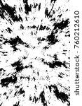 grunge black and white pattern. ... | Shutterstock . vector #760212610