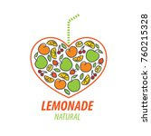 logo for lemonade | Shutterstock .eps vector #760215328