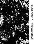 grunge black and white pattern. ... | Shutterstock . vector #760221046