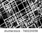 grunge black and white pattern. ... | Shutterstock . vector #760224358