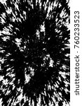 grunge black and white pattern. ... | Shutterstock . vector #760233523