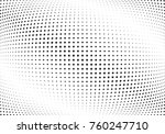 abstract halftone wave dotted... | Shutterstock .eps vector #760247710