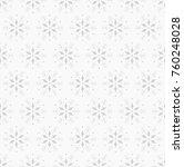 snowflake vector seamless... | Shutterstock .eps vector #760248028