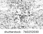 grunge black and white pattern. ... | Shutterstock . vector #760252030