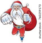 vector illustration of cartoon... | Shutterstock .eps vector #760259173