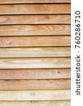 wooden slated background | Shutterstock . vector #760286710