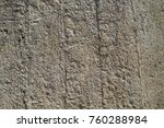 painted wall of cement ... | Shutterstock . vector #760288984