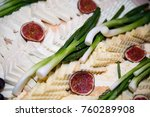 traditional romanian plate of... | Shutterstock . vector #760289908