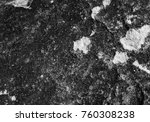 stone background  black and... | Shutterstock . vector #760308238