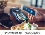 hand and mobile payment in