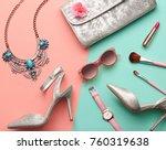 fashion design woman... | Shutterstock . vector #760319638