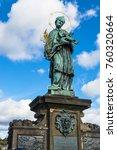 Prague  Czech Republic  Statue...