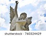 Fairy Statue In The Garden  A...