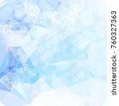abstract winter background with ...   Shutterstock .eps vector #760327363