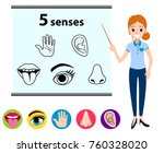 education concept five human... | Shutterstock .eps vector #760328020