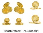 coins groups from different... | Shutterstock . vector #760336504
