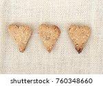 homemade cookies in the shape... | Shutterstock . vector #760348660