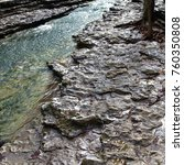 Rock Bed Riverbank