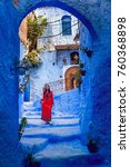 Small photo of Chefchaouen ,Blue city of Morocco