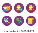 human resources and recruitment ... | Shutterstock .eps vector #760378474