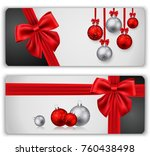 christmas greeting card | Shutterstock . vector #760438498